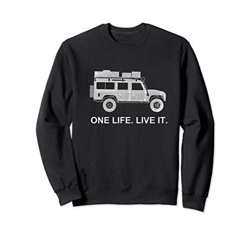 Defender Dachzelt Offroad 4x4 Reisefahrzeug Geschenk lustig Sweatshirt