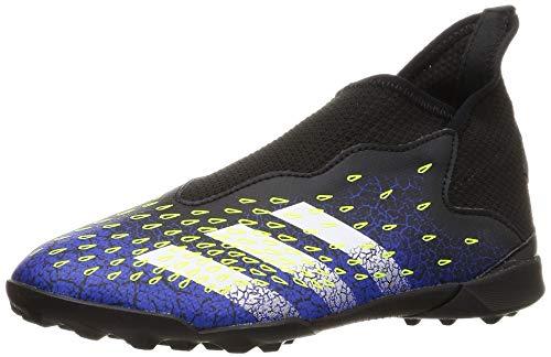 adidas Unisex Predator Freak .3 Ll Tf Fußballschuh, Core Black Cloud White Solar Yellow, Large EU