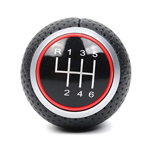 Pomello Cambio Manuale A 6 Marce Argento Per Au Di A4 S4 B8 8K A5 8T Q5 8R S Line 2007-2015 Pomello Leva Cambio