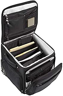 "Ativa Ultimate Workmate Rolling Briefcase with 15"" Laptop Pocket, Black"