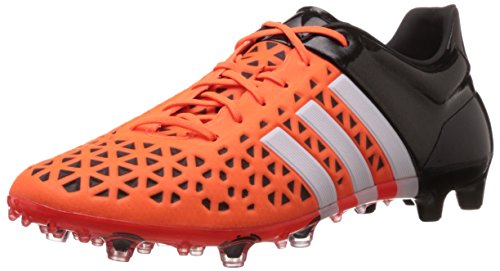 adidas Performance Herren ACE15.1 FG/AG Fußballschuhe, Orange (Solar Orange/Ftwr White/Core Black), 41 1/3 EU