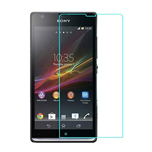 MagicBlizz 9H Nano+ Impossible Tech Protection/Temper Proof/Shutter Proof/Flexible Screen protector made with Anti Shattered Film for Sony Xperia Sp (1 9H Impossible Screen Protector)