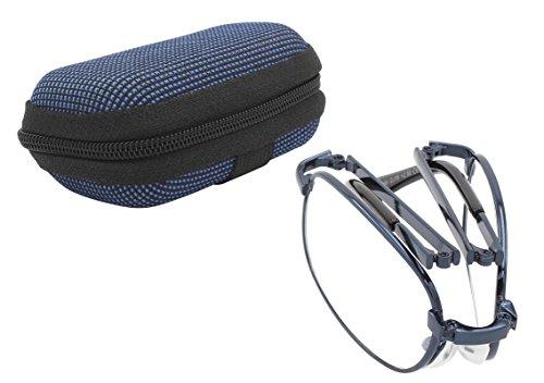 TBOC® Gafas de Lectura Plegables de Bolsillo - Graduadas +3.00 Dioptrías Montura...