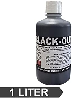 Black-Out Universal Inkjet Refill - UV Blocking for Film Positives 1 LTR. Bottle (1)