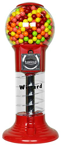 """Gumball Machine 27"""" Set Up for $0.25 Gumballs 1 inch Toys in..."""