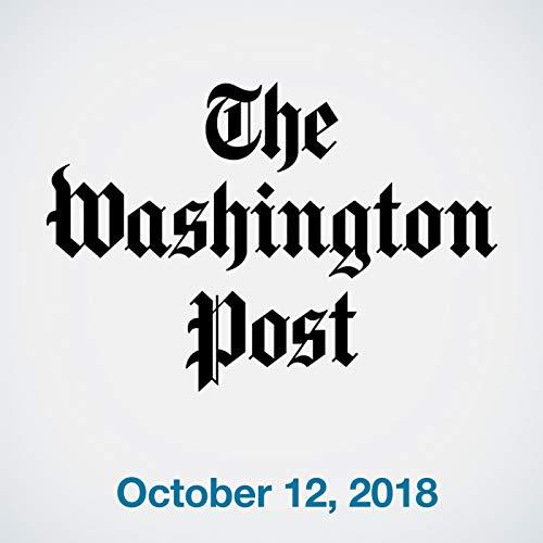 October 12, 2018 audiobook cover art