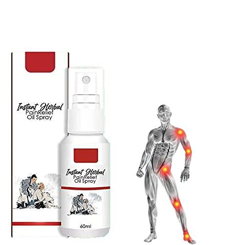 Spray AnalgéSico, Alivio RáPido Del Dolor Muscular, Lesiones Deportivas, Dolor De Espalda, Dolor Muscular, FóRmula Natural