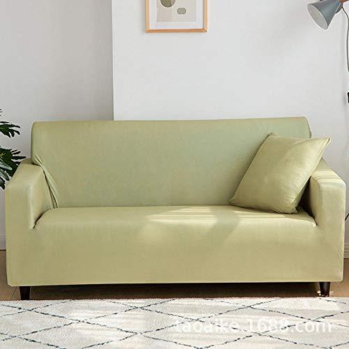 AWDX bankovertrek voor stoel, 2/3/4-zits, elastische bankovertrek, antislip stof, effen kleur, voor meubels in de woonkamer