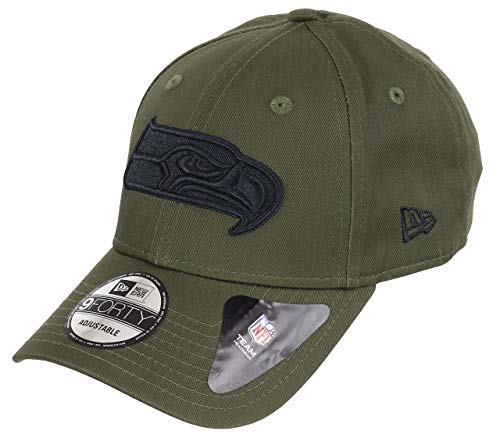 New Era Seattle Seahawks 9forty Adjustable Cap NFL Olive Pack Olive - One-Size