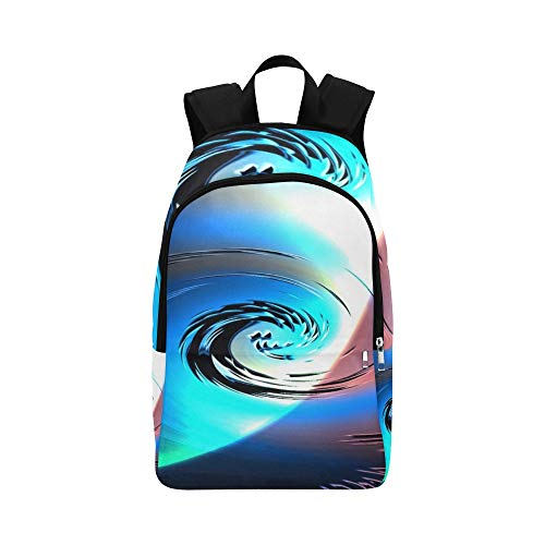 AIKENING Cyclone Whirl Hurricane Rotate Storm Rotation Casual Daypack Travel Bag College School Backpack for Mens and Women