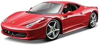 Maisto 1:24 Scale Assembly Line Ferrari 458 Italia Diecast Model Kit (Colors May Vary)