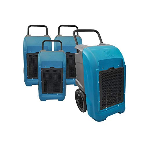 Affordable XPOWER XD-125 Industrial Commercial Dehumidifier to Dry basements, Large Rooms, Work Site...