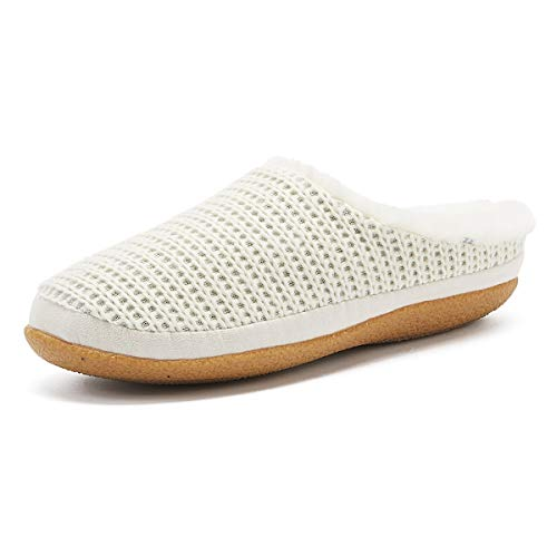 TOMS Women's Ivy Slippers Natural Sweater Knit 8