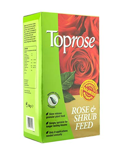 Rose Care Toprose Rose and Shrub Feed, 4 kg