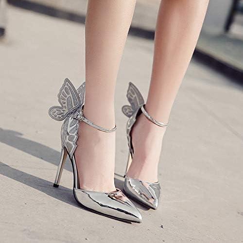 HRCxue Femmes Bout Rond Chaussures Chaussures Creuses Pointues tridiPour des hommesionnelles à Talons Hauts, Chaussures de Mariage, Chaussures pour Femmes  les magasins de détail