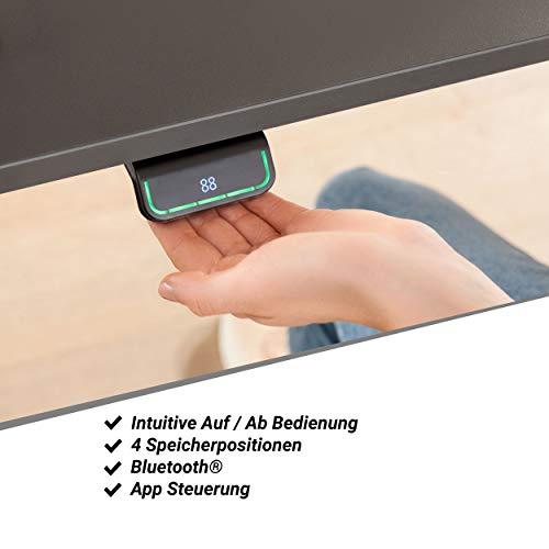 boho office® EASYDESK Line elektrisch stufenlos höhenverstellbarer Tischgestell. Made and designed in Denmark 3