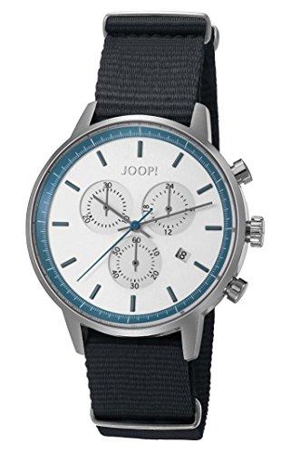 Joop! Herren-Armbanduhr Urban Anthracite Chronograph Quarz Textil JP101591008