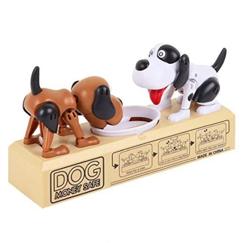 Hund Piggy Bank Robotic Münze Munching Toy Spardose Lustig Automatische Deposit Saving Box Kind Kindergeburtstag Geschenk