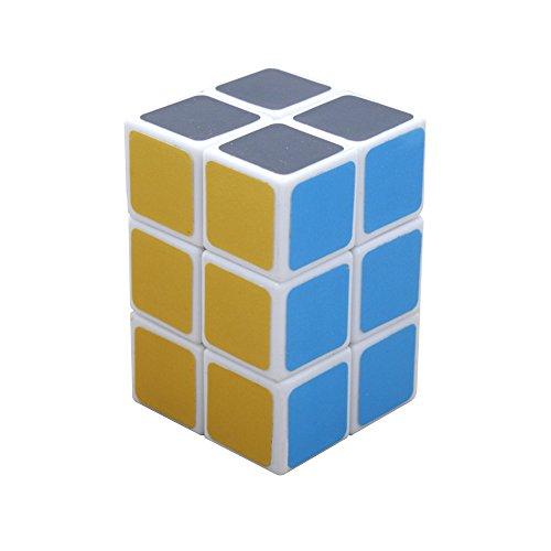 Wings of Wind - Fácil girar suave y velocidad 2x2x3 cubo mágico cubo puzzle cubo 1,49 x 1,49 x 2,24 pulgadas (Blanco)