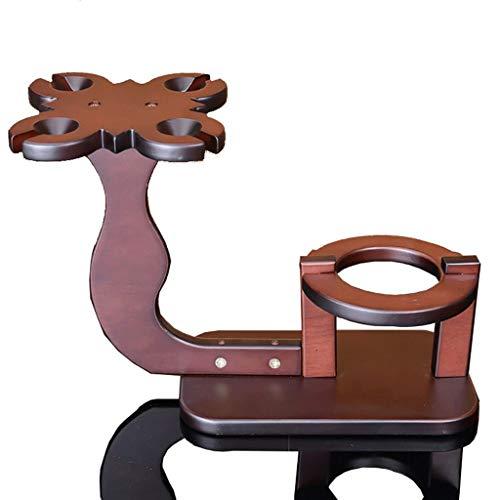 DAGONGREN Wine Rack, Classic Wood Desktop Red Wine Holder Almacenamiento Saqueador de Espacio Estante de exhibición Estante for almacenar decoración del hogar y la Cocina,