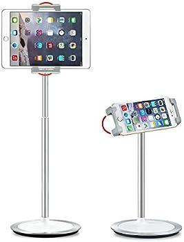 SAIJI 360 Degree Rotating Height Adjustable Tablet Stand Holder