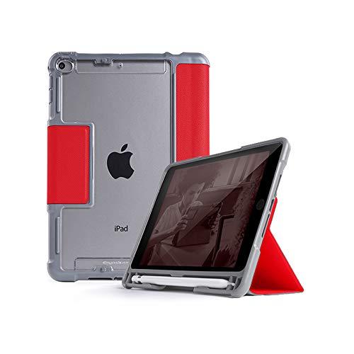 STM Dux Plus - Carcasa para iPad Mini 5ª generación, Color Rojo