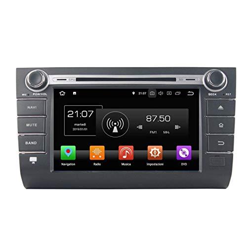 Android 8.0 Autoradio Navigazione GPS per Suzuki Swift(2006-2010), 8 Pollici Touchscreen Lettore DVD Radio Bluetooth