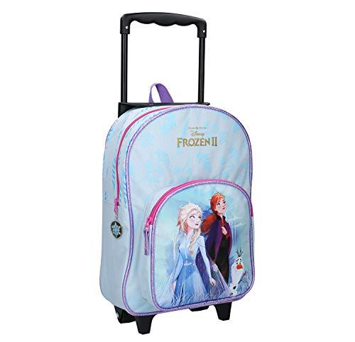 Disney Die Eiskönigin II Trolley Rucksack für Kinder - ELSA, Anna und Olaf - Find The Way