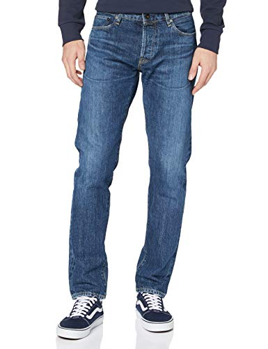 Jack & Jones JJIMIKE JJROYAL R339 RDD Selvedge Jeans, Azul Denim, 30W x 30L para Hombre