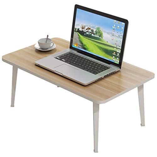 YUN-X Table de lit Pliable de Bureau d'ordinateur Portable, Bureau Portable Table de Camping Debout Portable Petit-déjeuner de Plein air Support de Plateau pour Le Sofa de lit