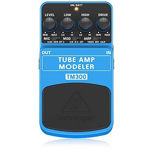 Behringer Tube Amp Modeler TM300 Ultimatives Röhrenverstärker-Modeling-Effektpedal