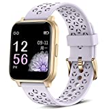ASWEE Smart Watch for Women, Fitness Tracker with Blood Oxygen, Heart Rate and Sleep Monitor, Pedometer Step Counter Watch with 5ATM Waterproof, Smartwatch Compatible with iPhone Android