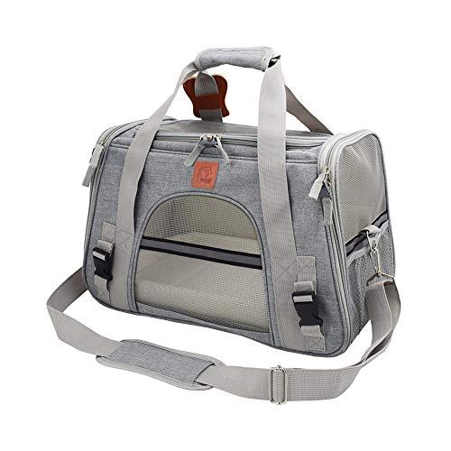 ETOPARS Faltbare Tragetasche für Haustiere, Haustier Gepäcktasche, Transporttasche für Haustiere, Hund Reisetasche Handtasche Unterstützen Sie Haustier Katzen Hunde innerhalb von 10 kg
