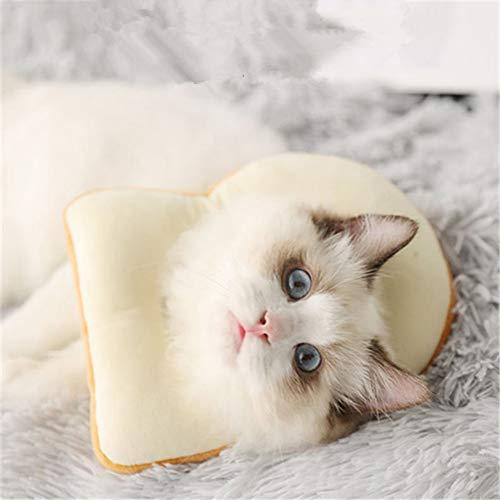 Alician Thuis voelde wond helende kraag honden katten medische bescherming toast brood/avocado vorm hals ring