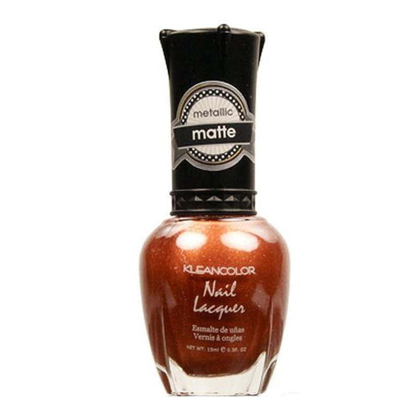 食堂気がついて亜熱帯(3 Pack) KLEANCOLOR Matte Nail Lacquer - Oh So Teasing (並行輸入品)