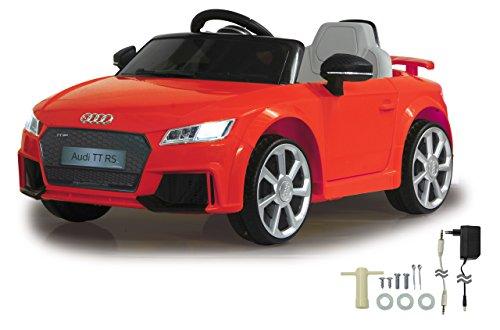 Jamara- Ride on Audi TT RS, 12 V, Color Rojo (460277)