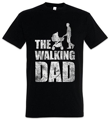 Urban Backwoods The Walking Dad Camiseta De Hombre T-Shirt Negro Talla S