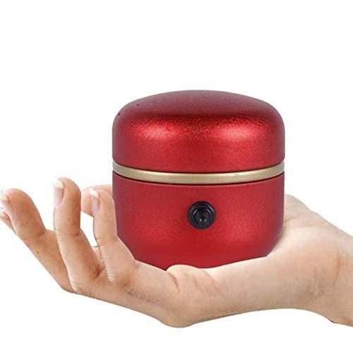 ZSS Mini máquina eléctrica de la rueda de la cerámica 1500 rpm, tocadiscos eléctricos de la punta del dedo herramienta de arcilla con bandeja para adultos y niños principiantes