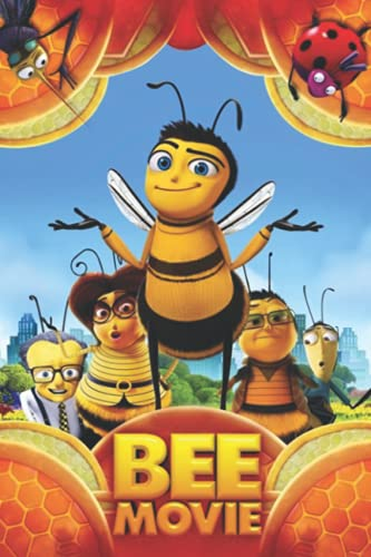 Bee Movie Notebook: - (110 Pages, Lined, 6 x 9)