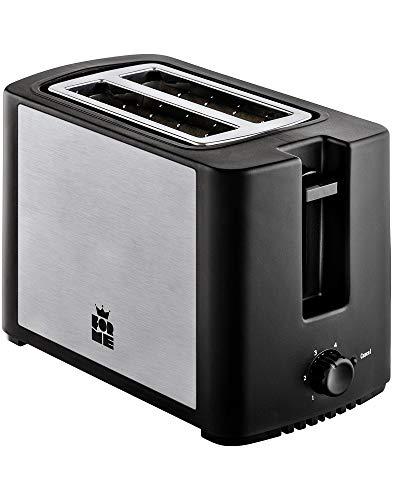 ForMe Toaster 750 Watt Brotröster 4 Bräunungsstufen Abbrechen Funktionen Krümelschublade I Wärmeisoliertes I Gehäuse I BPA frei