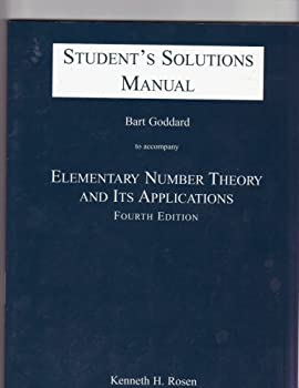 Elementary Number Theory and Its Applications: Student Solutions Manual 0201437236 Book Cover