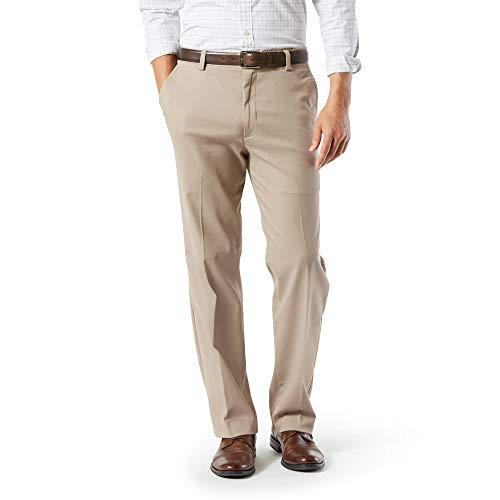 Dockers Men's Big and Tall Classic Fit Easy Khaki Pants, Burma Grey (Stretch), 48 34