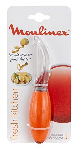 Moulinex Fresh Kitchen K0611704 Sparschäler, Kunststoff, Orange