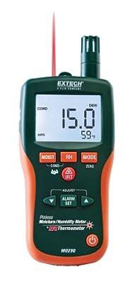 Extech Pinless Moisture Meter + IR Thermometer