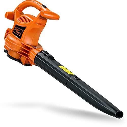 SuperHandy Leaf Blower, Vacuum and Mulcher 3 in 1 Electric 230V...