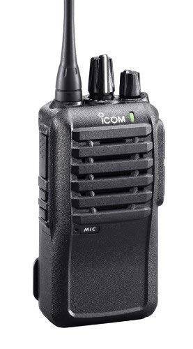Icom IC-F1000 5 Watt 16 Channel VHF Radio 2 Pack with Surveillance Style Headsets