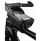 Borsa Bici Telaio, Impermeabile Borsa Bici, Touch Screen Porta Cellulare Da Bici, Ampio spazio per accessori bici, BorsaTelaio Bici per iPhone XS/X/Samsung S9/S8/Huawei P30/P40 Fino a 7.0'