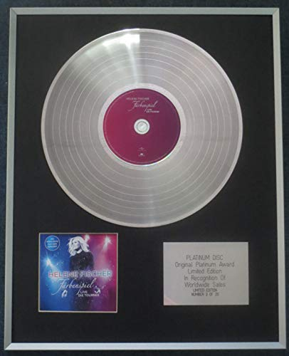 Century Presentations - Helene Fischer CD Platinum LP Disc Limited Edition Farbenspiel: Live