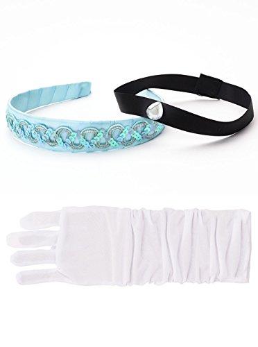 Little Adventures Cinderella Kopfband & weißer Handschuh Set für Mädchen - Einheitsgröße (3+ Jahre)