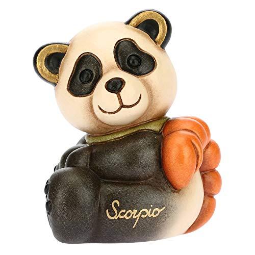 THUN - Panda Scorpio - Formato Piccolo - Linea Oroscopo Ceramica - 6,4x6x7,3 h cm